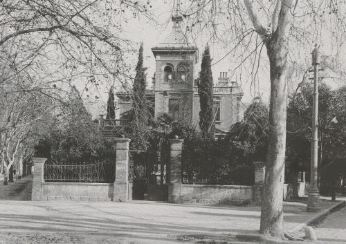 Zgrada Rektorata na Rodenou 1897. godina