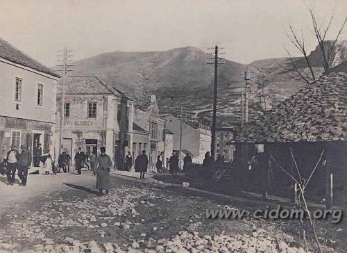 Franje Josipa ulica Mostarskog bataljona 1913